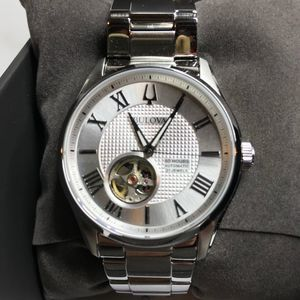 Bulova Wilton Stainless Steel Watch NWT